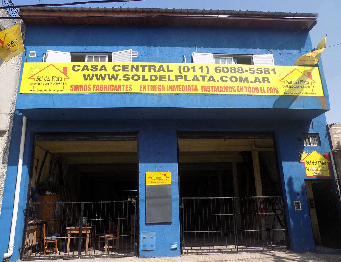 Planta Industrial - Constructora Sol del Plata